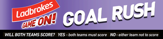 Play Goal Rush at Ladbrokes