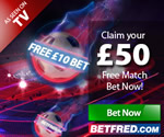 BetFred Free £50 Bet
