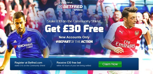 Betfred Price Boost