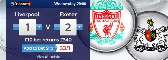 Liverpool vs Exeter