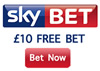 Free £10 Bet at SkyBet